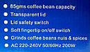 Электрическая Кофемолка Geepas GCG 288 Coffee Grinder, фото 5