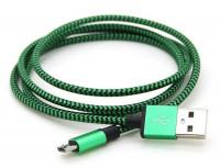 Кабель Шнур Переходник V8-Cable A Тканевая Оплетка am