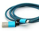 Кабель Шнур Переходник V8-Cable A Тканевая Оплетка am, фото 3