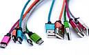 Кабель Шнур Переходник V8-Cable A Тканевая Оплетка am, фото 5