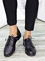 Туфли черные кожаные 7265-28, фото 2