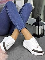 Кеды белые кожаные 7269-28, фото 2