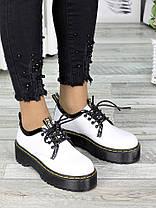 Туфли броги MART!INS белые 7286-28, фото 2