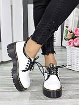 Туфли броги MART!INS белые 7286-28, фото 3