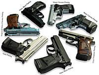 Пистолет стартовый Stalker (Zoraki) 917 shiny(chrome)
