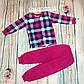 Піжама для дівчинки Туфлі інтерлок, фото 3