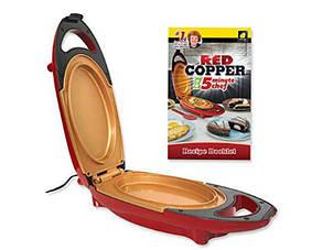 Электрическая Скороварка Red Cooper 5 Minuts Chef Для Вторых Блюд Мультиварка Пароварка sale
