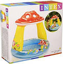 Детский Надувной Бассейн Грибочек Intex 57114 102х89 см, фото 2