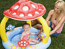 Детский Надувной Бассейн Грибочек Intex 57114 102х89 см, фото 4
