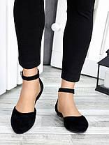 Туфли Алиса черная замша 7420-28, фото 3