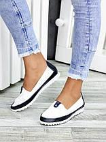 Туфлі шкіряні мокасини 7450-28, фото 2
