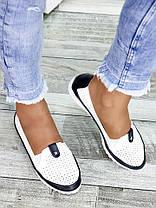 Туфлі шкіряні мокасини 7450-28, фото 3