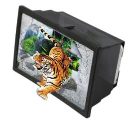 3D увеличитель экрана смартфона (складной) черного цвета