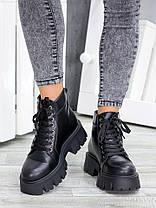 Ботинки женские кожаные Opium 7464-28, фото 2