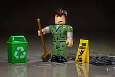 Игровая коллекционная фигурка Jazwares Roblox Сore Figures Welcome to Bloxburg: Glen the Janitor W3 (ROG0106), фото 3