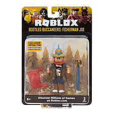 Игровая коллекционная фигурка Jazwares Roblox Core Figures Bootleg Buccaneers: Fisherman Joe W4 (ROG0114), фото 2