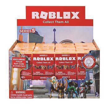 Ігрова колекційна фігурка Jazwares Roblox Mystery Figures Industrial S5 (10829R)