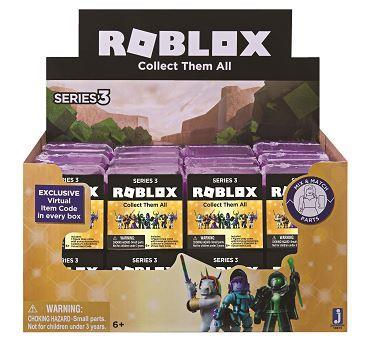 Ігрова колекційна фігурка Jazwares Roblox Mystery Figures Amethyst S3 (19815R)
