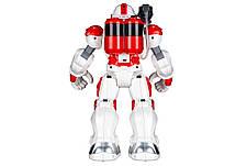 Робот Фаєрмен Same Toy на радіокеруванні Червоний/ Білий (9088UT), фото 2