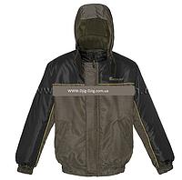 "Куртка утепленная рыбалка-охота Оксфорд ""Khaki + Black"""