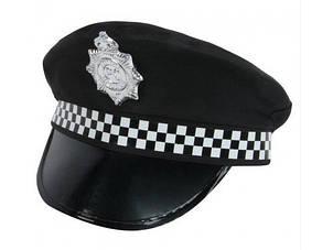 Карнавальная Шляпа Полицейского + Подарок