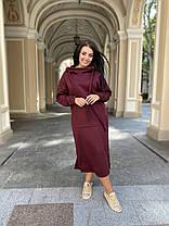 Платье теплое с капюшоном, фото 2