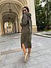 Платье теплое с капюшоном, фото 6