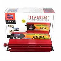 Инвертор (преобразователь) AC/DC DP-2500W – реальная мощность 2500Вт