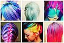 Цветная Пудра для Волос Hot Huez Мелки, фото 5