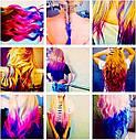 Цветная Пудра для Волос Hot Huez Мелки, фото 7