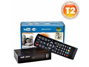 Цифровой Тюнер Т2 ТВ Ресивер DVB-T2 MEGOGO С LCD И Поддержкой Wi-Fi
