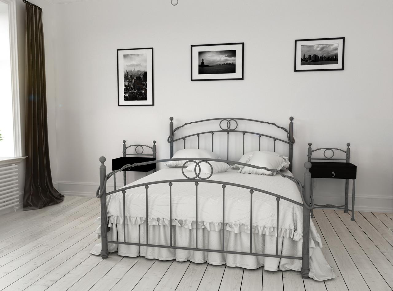 Металлическая кровать Toskana (Тоскана) ТМ Металл-Дизайн