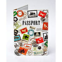 Обложка для паспорта Travel марки, фото 1