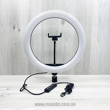 Многофункциональная кольцевая LED лампа RGB SOFT RING LIGHT MJ33 33''см + штатив 1.6 м, фото 2