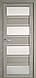 """Дверь межкомнатная остеклённая новый стиль Мода """"Элиза BLK,G"""" 60-90 см дуб мускат, фото 4"""