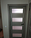 """Дверь межкомнатная остеклённая новый стиль Мода """"Элиза BLK,G"""" 60-90 см дуб мускат, фото 7"""