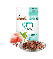 OptiMeal for Kittens с курицей для котят (блок) - 12шт/85г