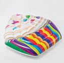Пляжный Надувной Матрас Кекс Плот Intex 58770 142 х 135 см, фото 2