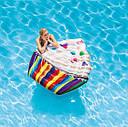 Пляжный Надувной Матрас Кекс Плот Intex 58770 142 х 135 см, фото 5