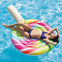 Пляжный Надувной Матрас Intex 58753 EU Леденец Размером 208*135 см От 12 ти Лет sale, фото 5