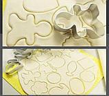 Алюмінієва форма для печива - Різдвяний чоловічок, фото 3