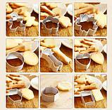 Алюмінієва форма для печива - Різдвяний чоловічок, фото 4