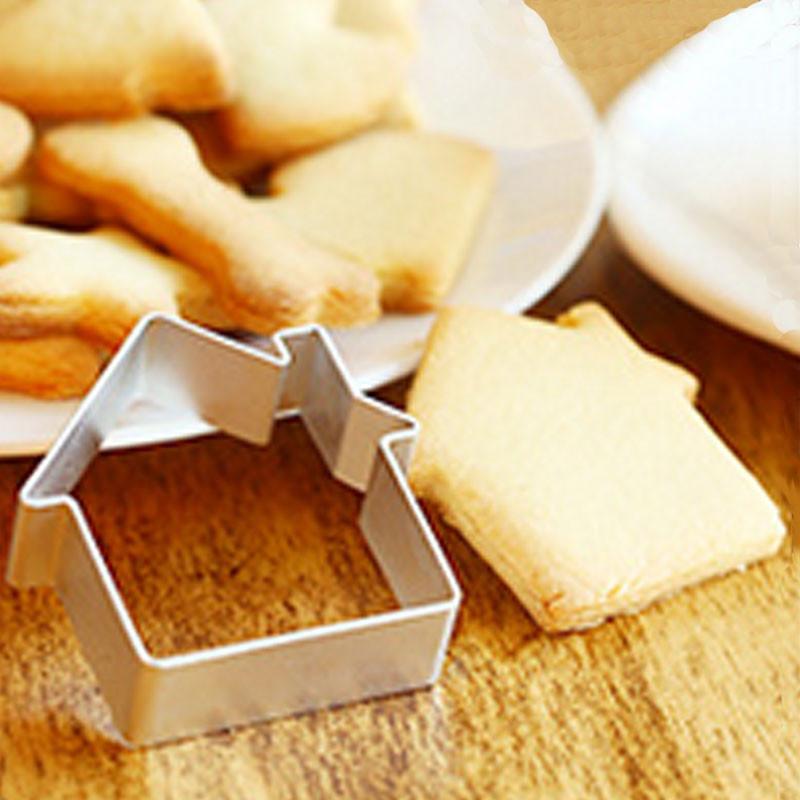 Алюминиевая форма для печенья - Дом