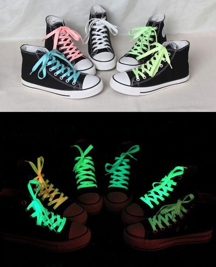 Шнурки світяться в темряві, 100 см