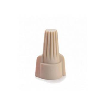 Колпачки для скрутки кабеля двойные SP2  = 2*6  мм2  (бежевые) (100шт), фото 2