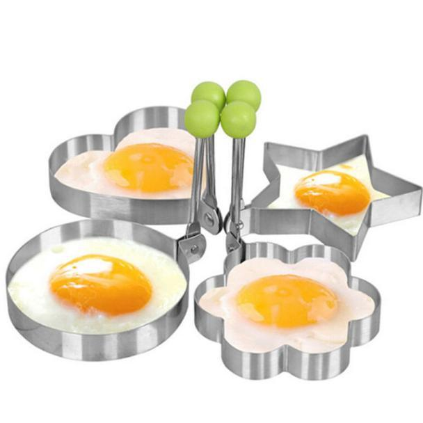 Металлическая форма для яичницы - Круглая