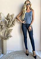 Женские стильные леггинсы с поясом на резинке, фото 1