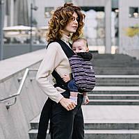 Май-слинг Love & Carry Рюкзаки для переноски детей, слинги Страйп Радуга Папоротник Экрю Сафари