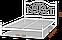 Металлическая кровать Офелия. ТМ  Металл-Дизайн, фото 3