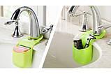 Силиконовый держатель для разнообразных пренадлежностей как на кухне так и в ванной, фото 5
